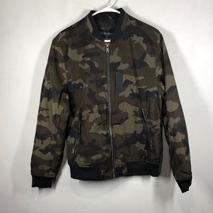 Zara Man camouflage jacket size small